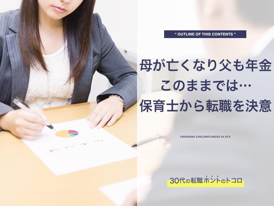 転職を決意して履歴書を書く女性
