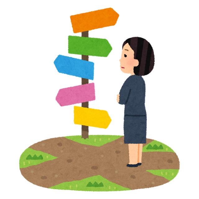 転職の優先事項を考える女性
